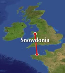 carte snowdonia